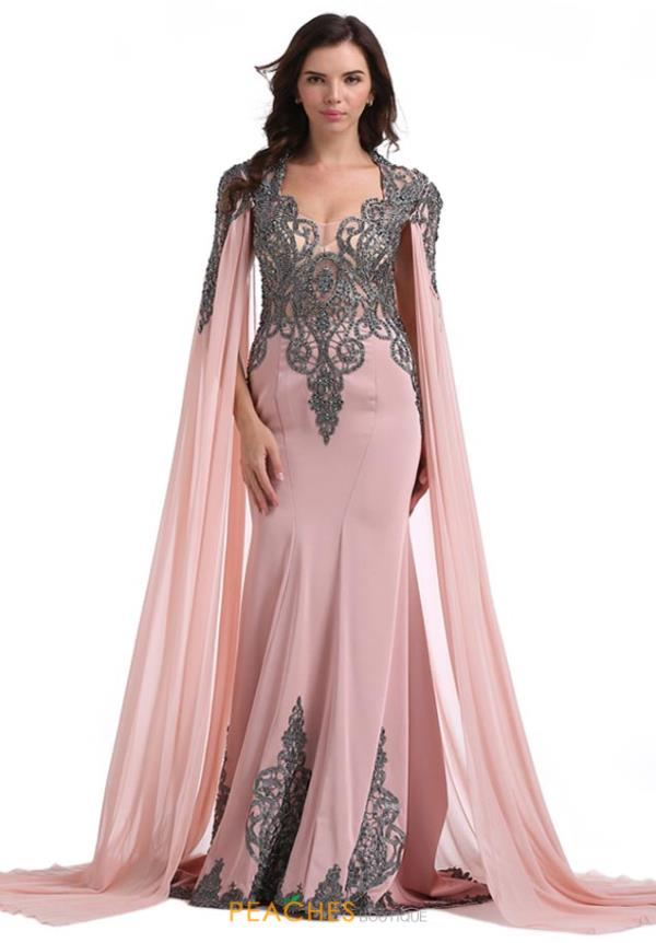 Romance Couture Long Fitted Dress RD1809