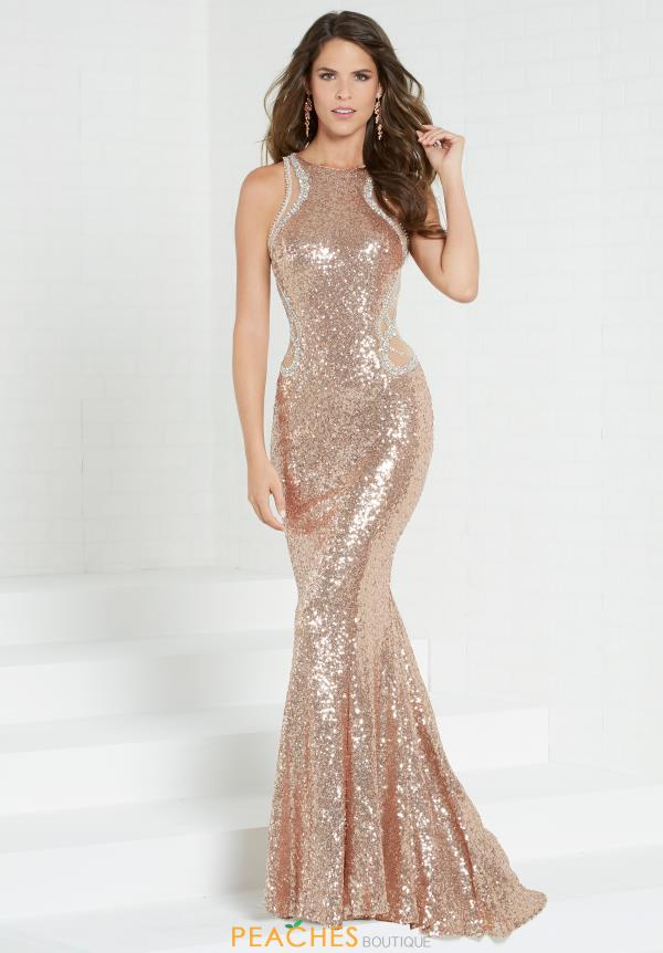 Tiffany Sequins Fitted Dress 16284