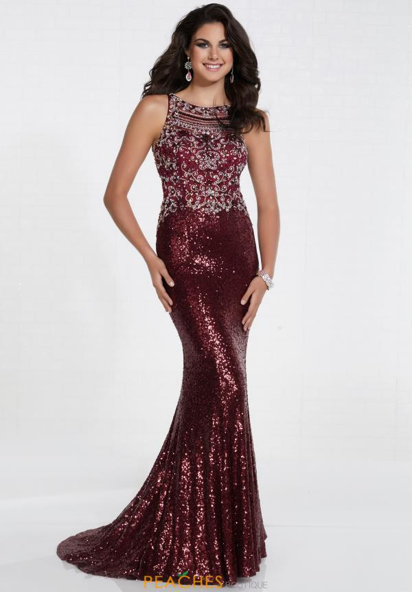 Tiffany Fitted Sequins Dress 16298