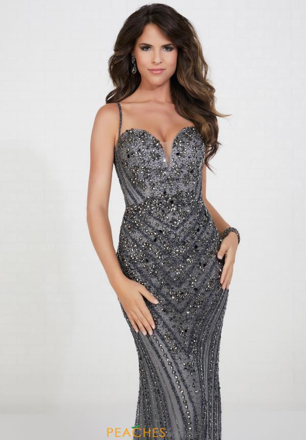 Tiffany Beaded Fitted Dress 46113