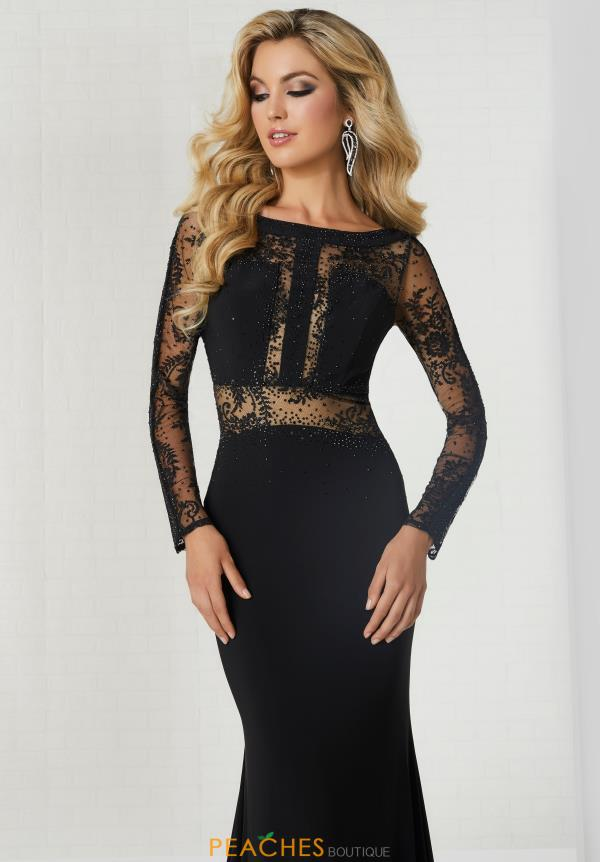 Tiffany Long Sleeve Fitted Dress 46129