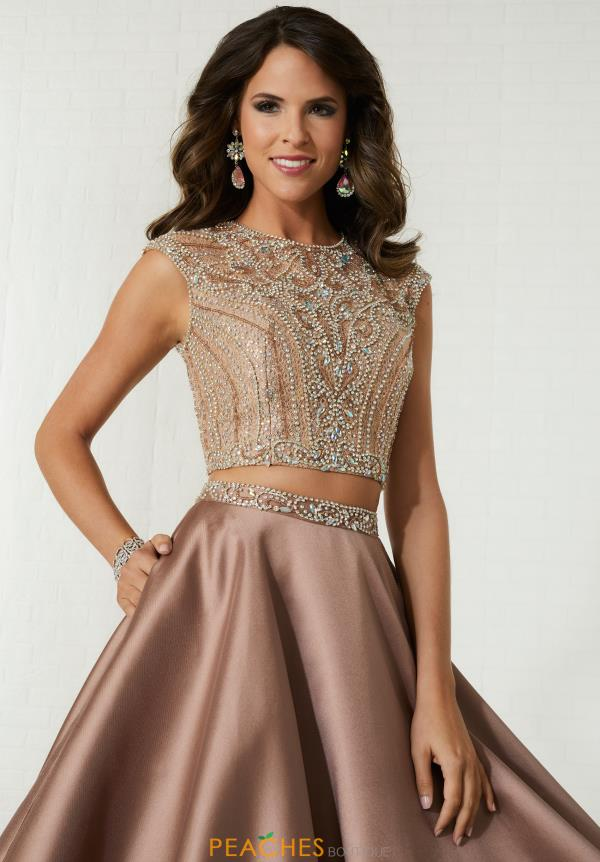 Tiffany Beaded Two Piece Dress 46136