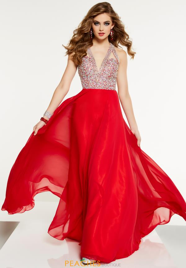 Panoply V- Neckline Long Dress 14887