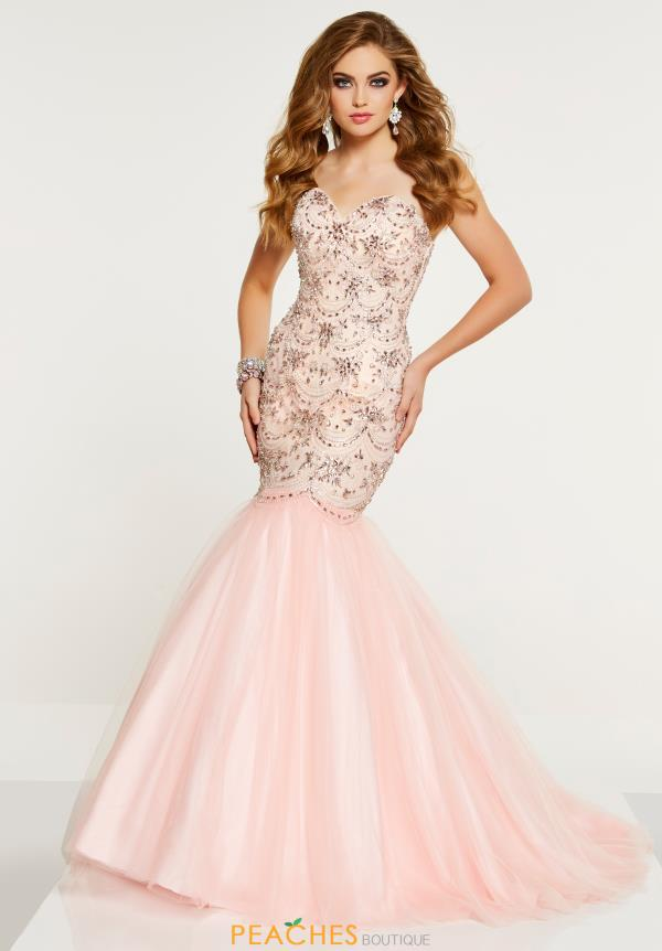 Panoply Strapless Mermaid Dress 14898