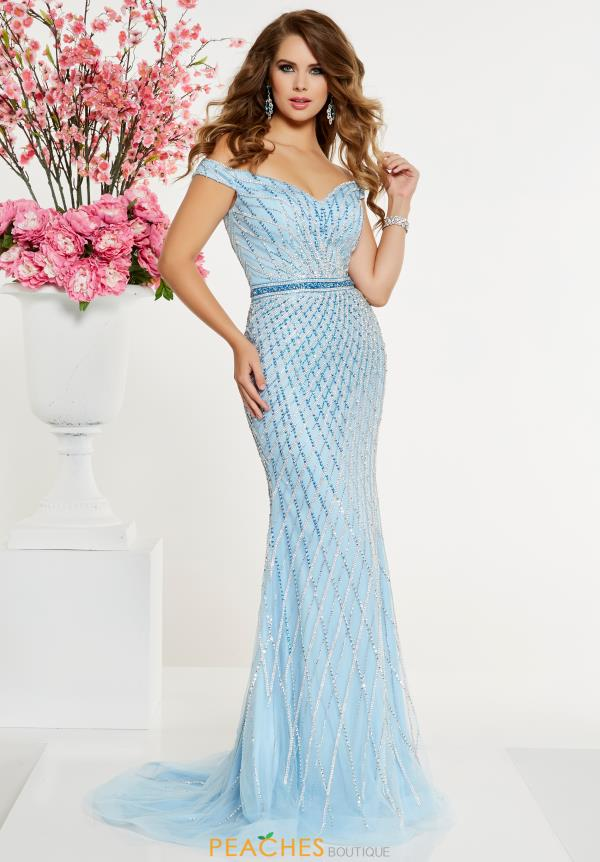 Panoply Long Fitted Dress 14903