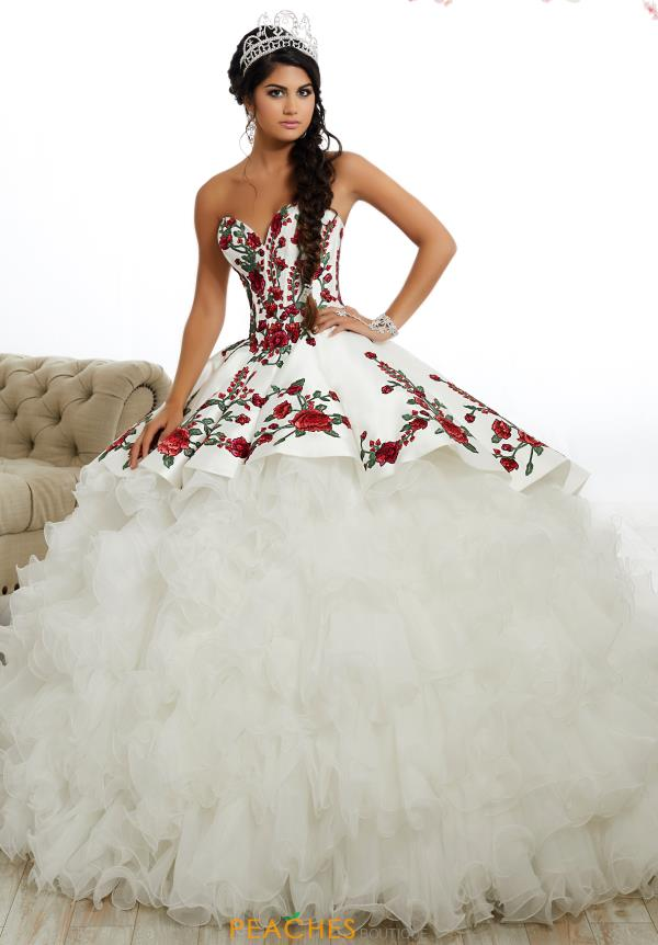 Tiffany Quinceanera Satin Corset Gown 26892