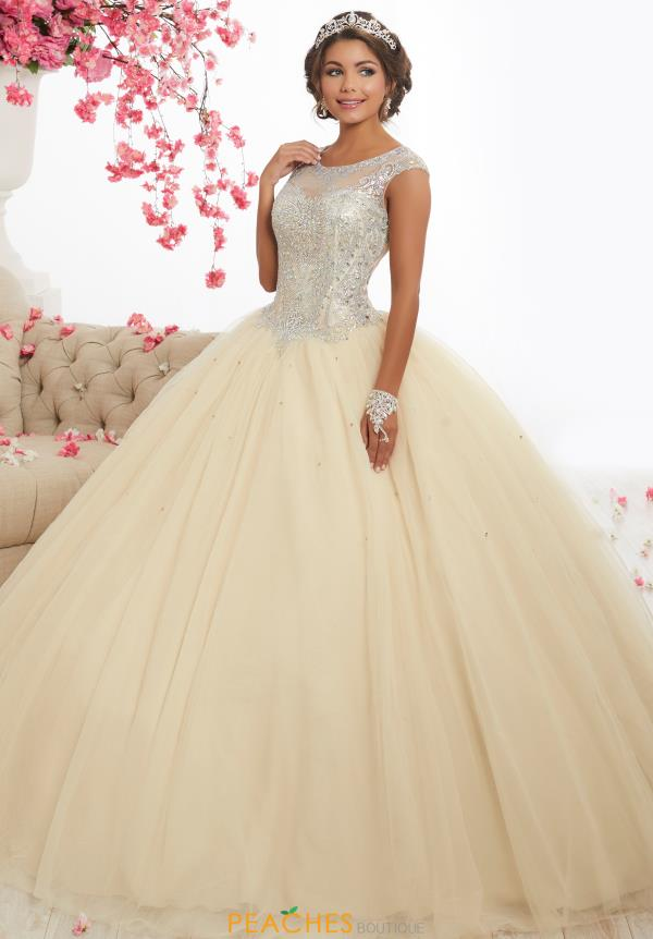 Tiffany Quince Long Beaded 56338 Dress