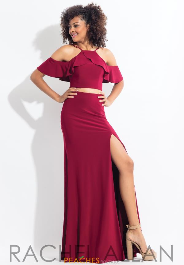 Rachel Allan Jersey Two Piece Dress 6197