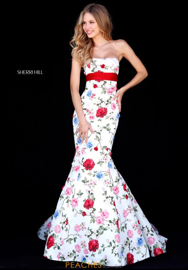 Sherri Hill Mermaid Long Dress 51882