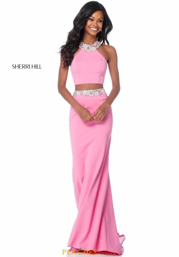 Sherri Hill Long Fitted Dress 51911