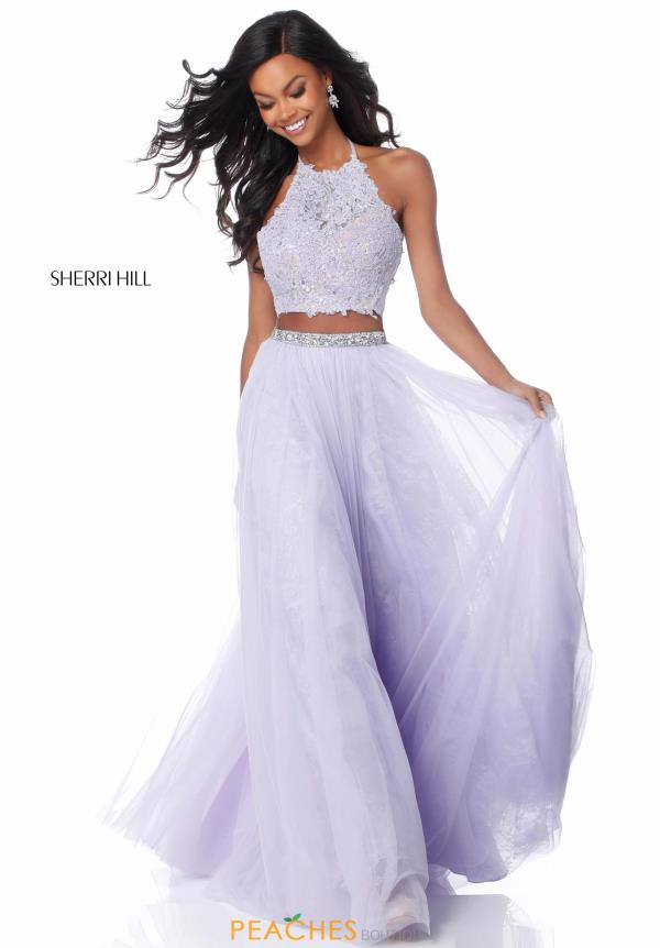 Sherri Hill Two Piece A Line Dress 51924