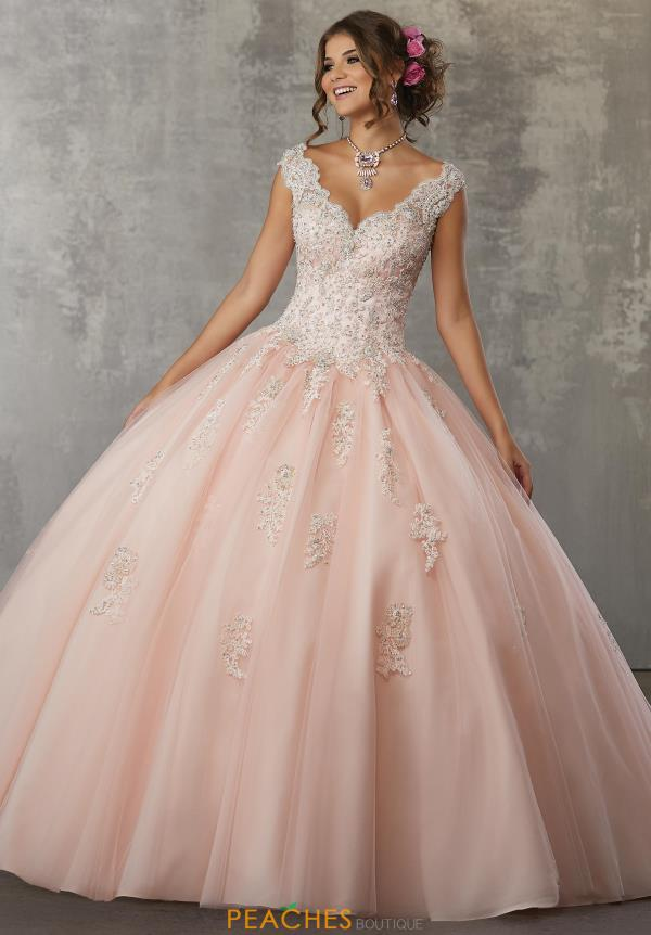 Vizcaya Quinceanera Lace Ball Gown 60033