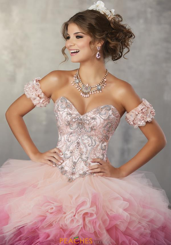 Vizcaya Quinceanera Beaded Ball Gown 89161