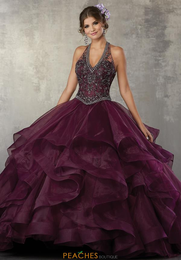 Vizcaya Quinceanera Ruffled Skirt Gown 89164