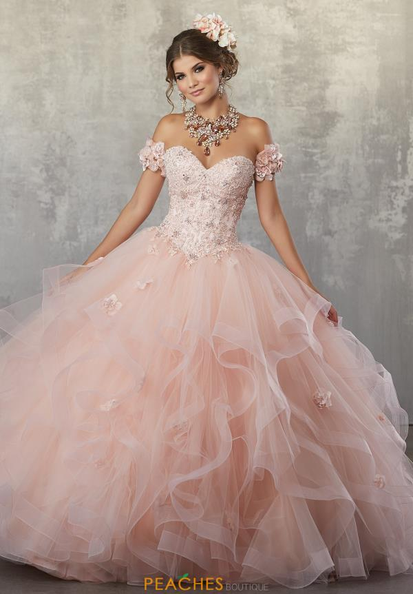 Vizcaya Quinceanera Beaded Ball Gown 89174