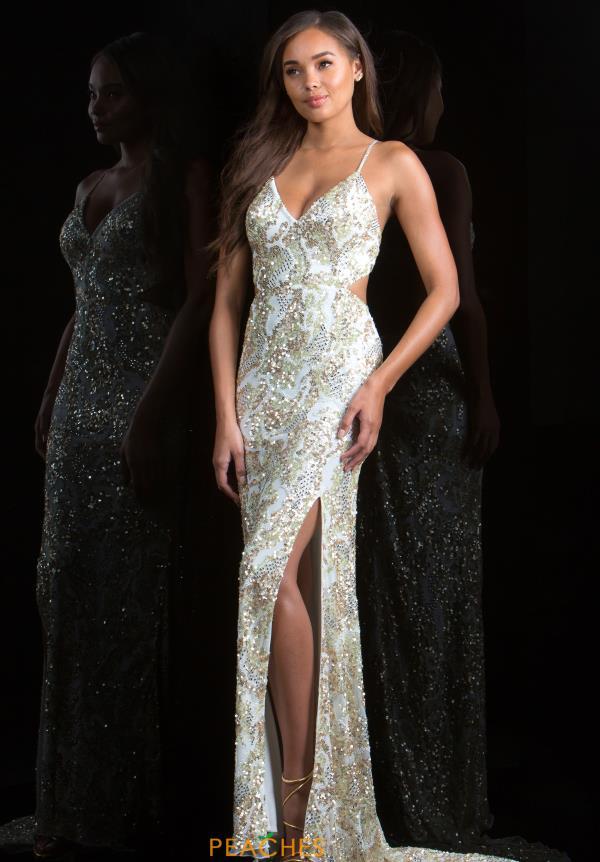 Scala Prom Dress 48679   PeachesBoutique.com