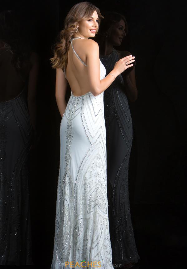 a40be748 Scala Prom Dress 48793 | PeachesBoutique.com