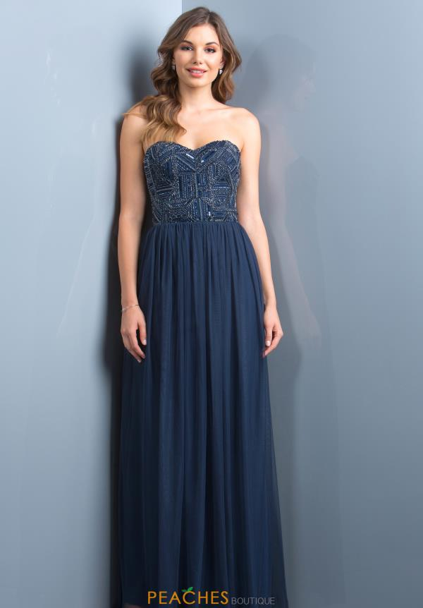 Scala Strapless Long Dress 48801