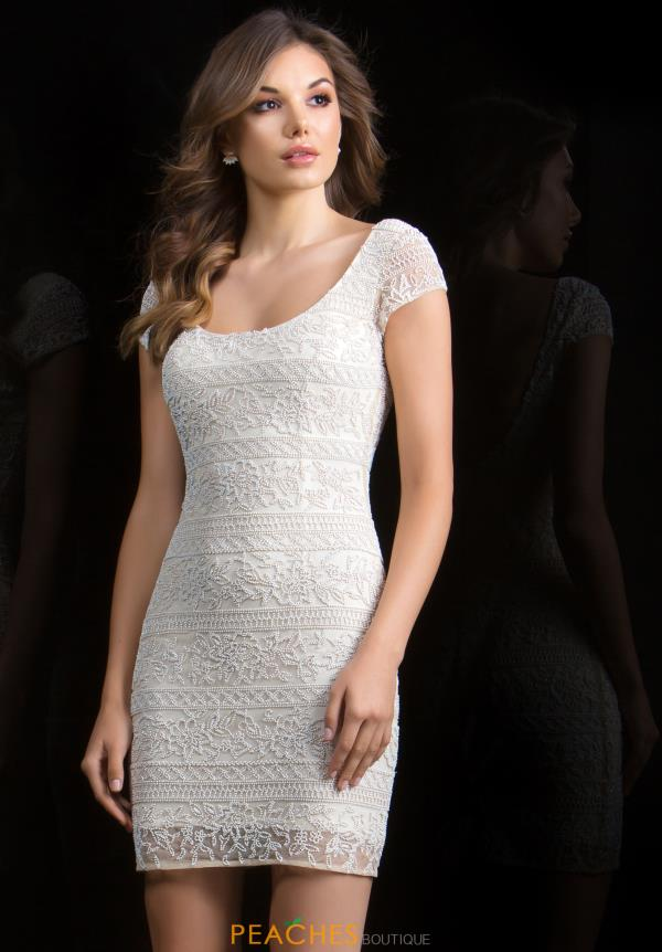 Scala Sleeved Beaded Dress 48825