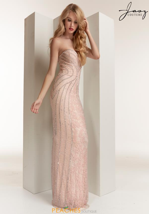 Jasz Couture Sweetheart Beaded Dress 1410