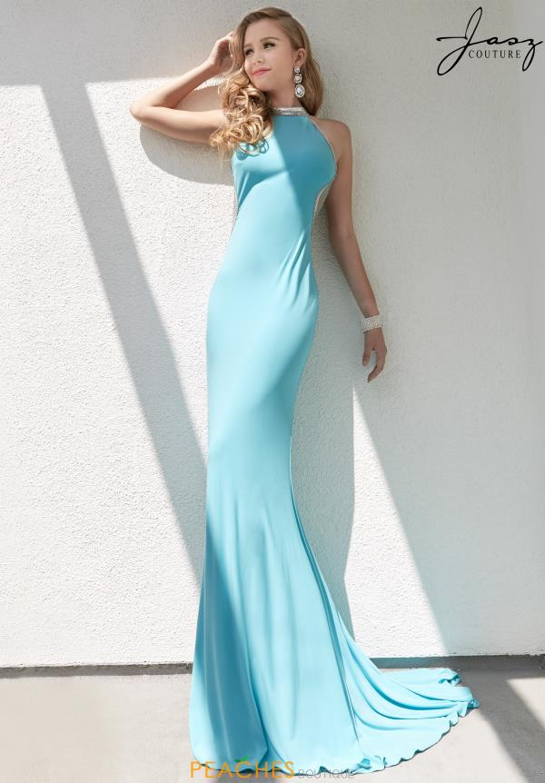 Jasz Couture Jersey Fitted Dress 6257