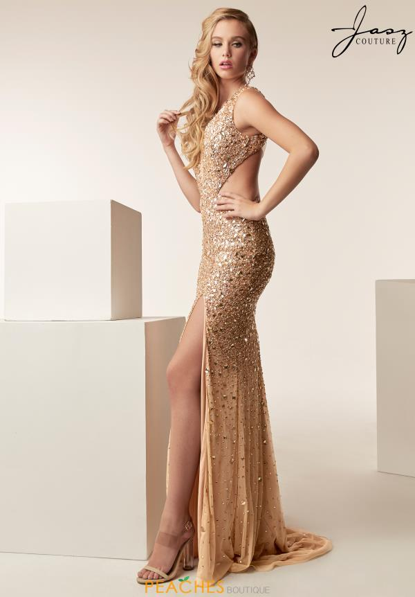 Jasz Couture Open Back Sexy Dress 6271