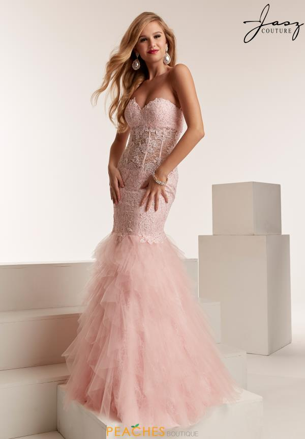 Jasz Couture Lace Mermaid Dress 6319