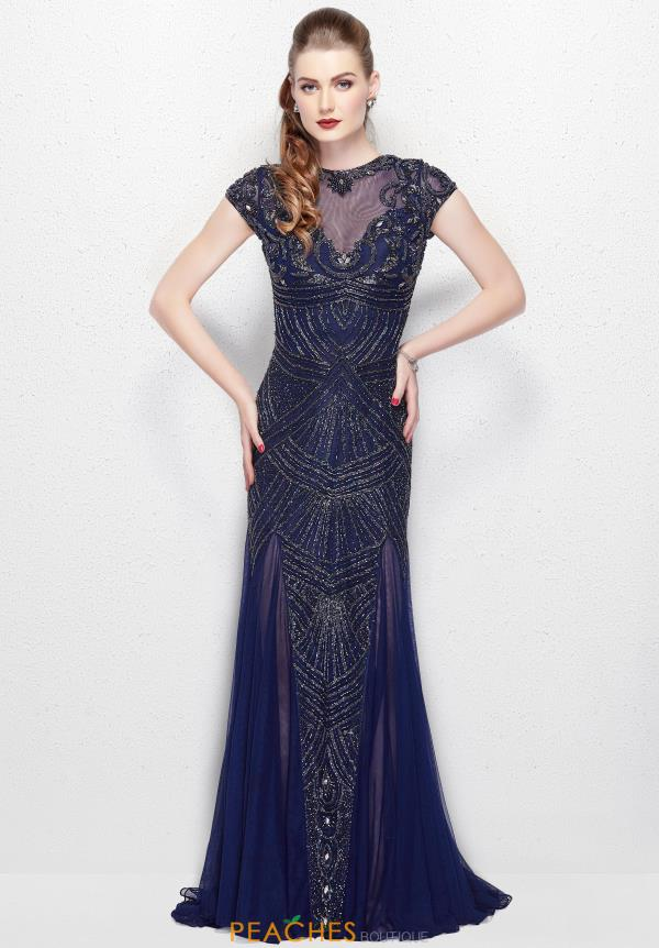 Primavera Long Fitted Dress 3012