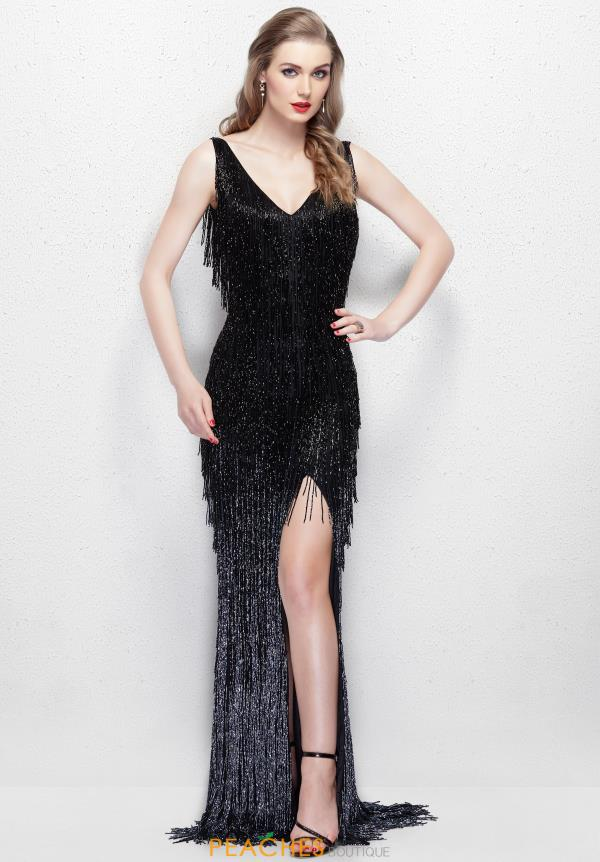Primavera Long Fringe Dress 3031