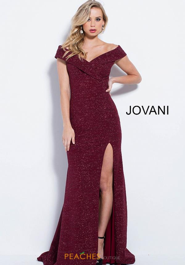 Jovani Cap Sleeved Fitted Dress 58576