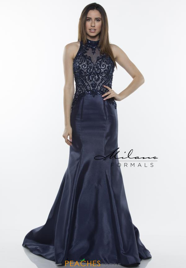 Milano Formals Beaded Mermaid Dress E2426