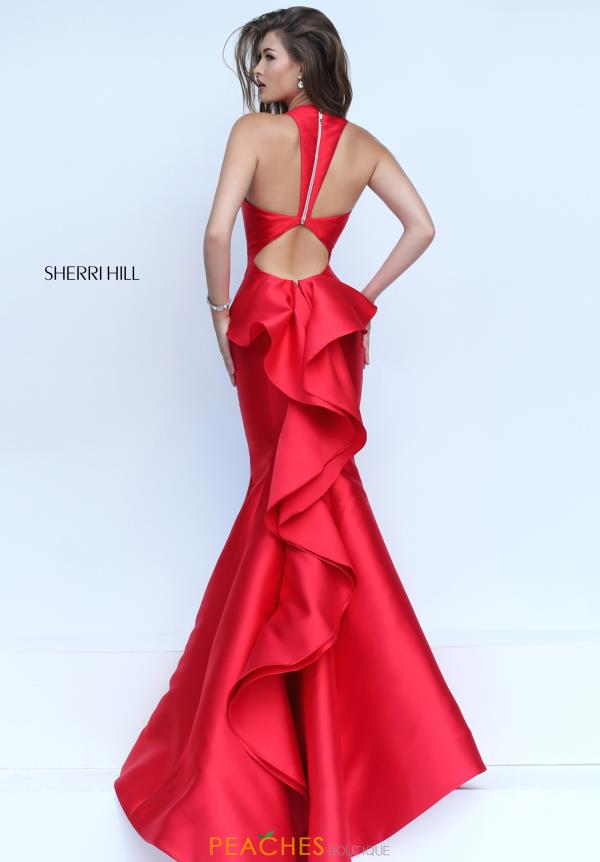 Sherri Hill Taffeta Prom Dress 50195