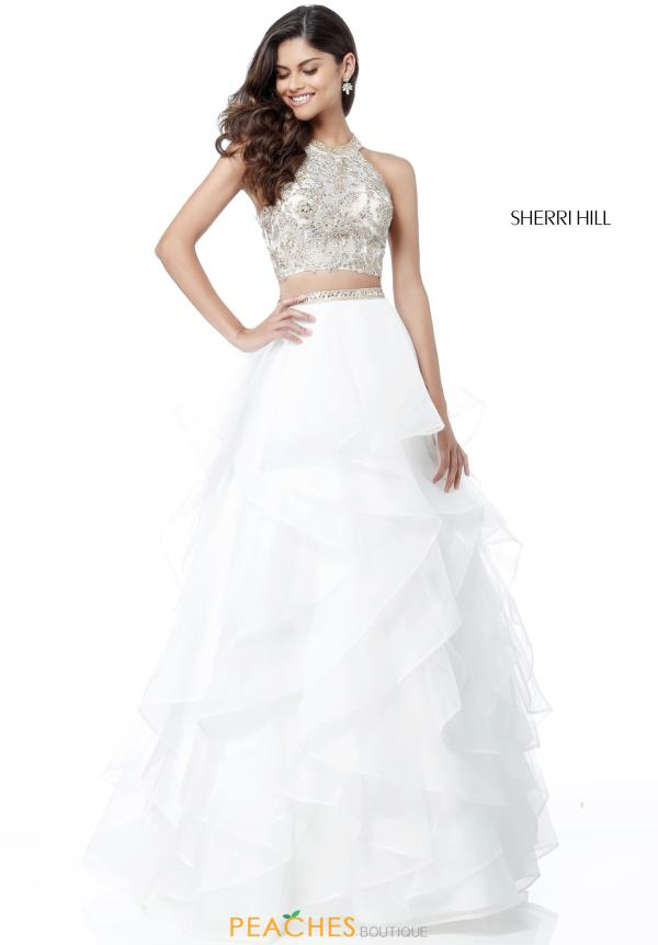 Sherri Hill Two Piece Organza Dress 51615