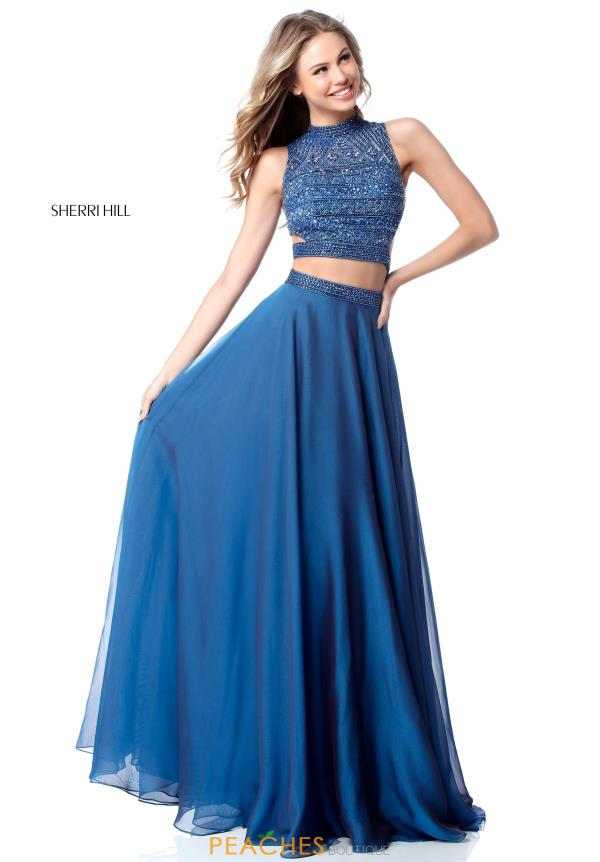 Blue Prom Dresses Peaches Boutique