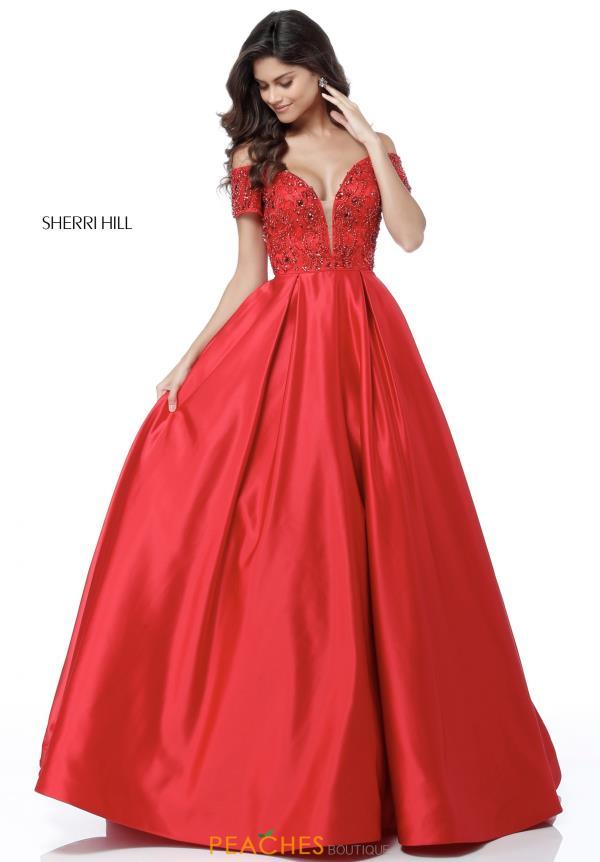 Sherri Hill Dress 51611 Peachesboutiquecom