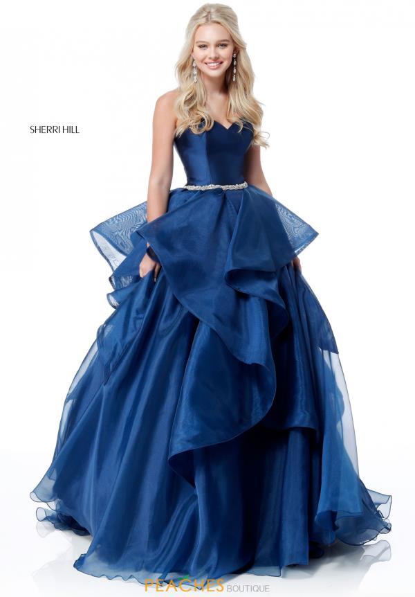 Sherri Hill Dress 51701 | PeachesBoutique.com