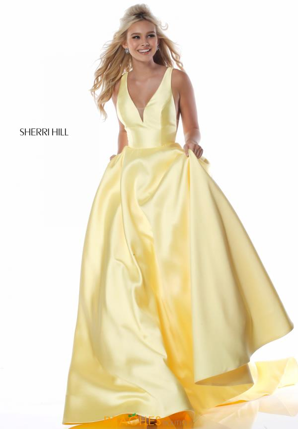 Sherri Hill A Line Long Dress 51856