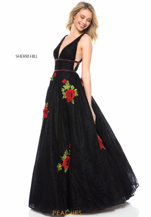 ae857f82476e8 Sherri Hill Dress 52047 | PeachesBoutique.com