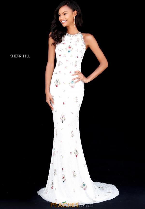 Sherri Hill Beaded Fitted Dress 51661