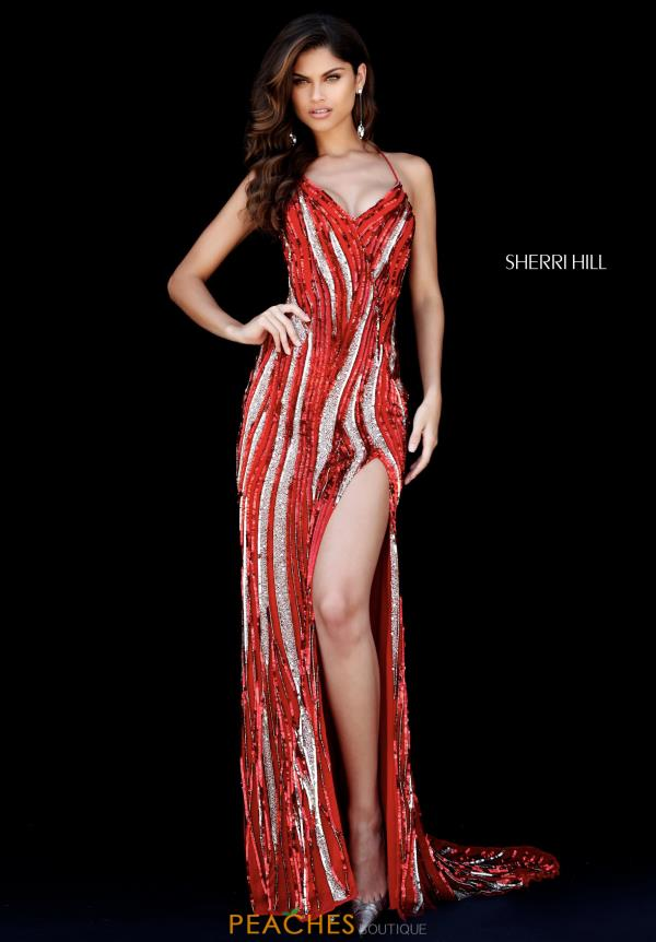 Sherri Hill Sweetheart Beaded Dress 51743