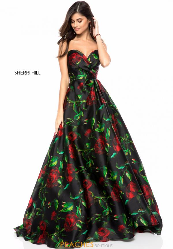 Sherri Hill Sweetheart A Line Dress 51803
