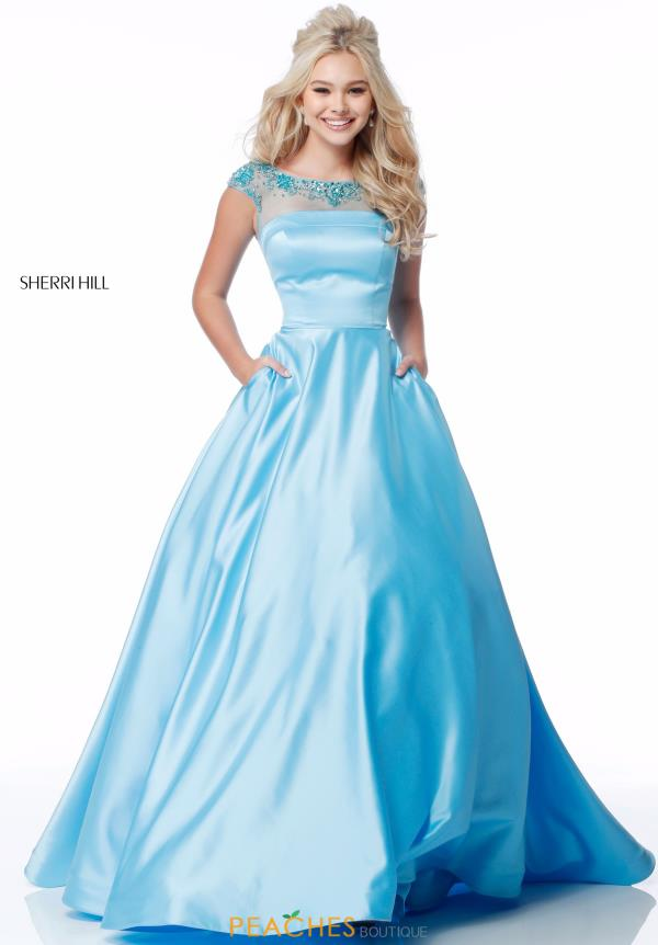 Sherri Hill Full Figured Beaded Dress 51814