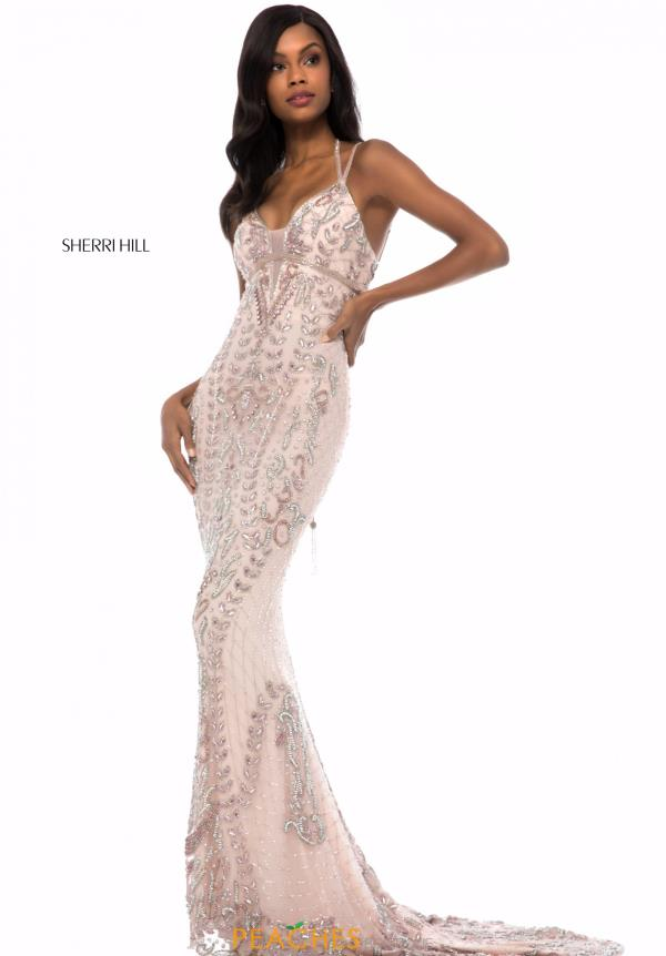 Sherri Hill Fitted Long Dress 51946