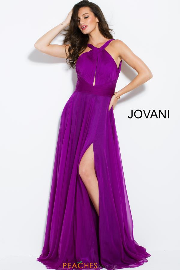 Jovani Long Chiffon Dress 50612