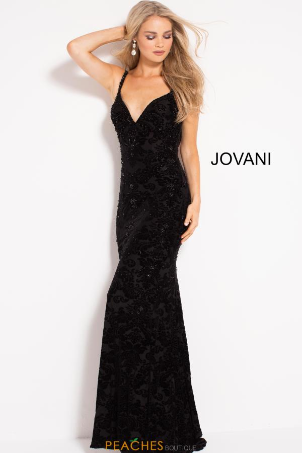 Jovani Long Black Dress 50937