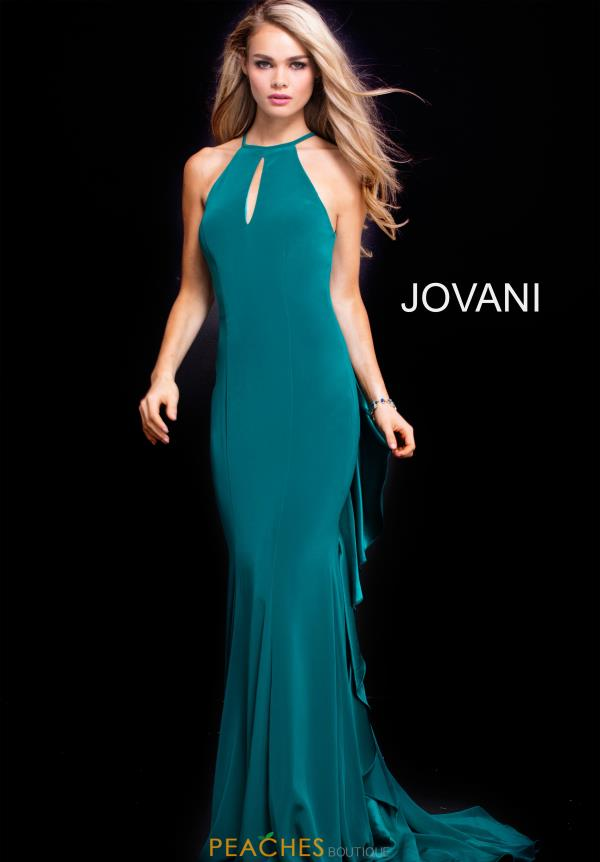 Jovani Long Jersey Dress 51617