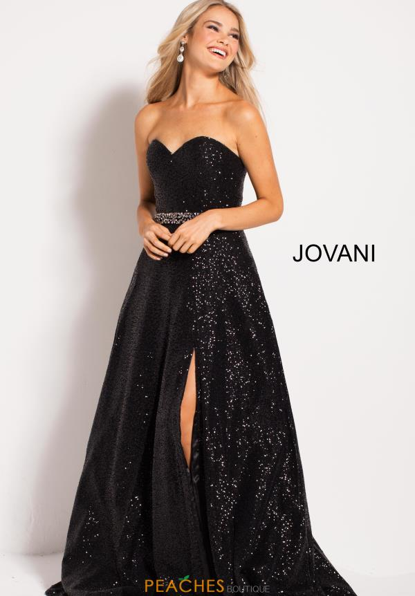Jovani Strapless A Line Dress 51804