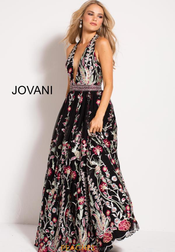 Jovani Long Print Dress 53100
