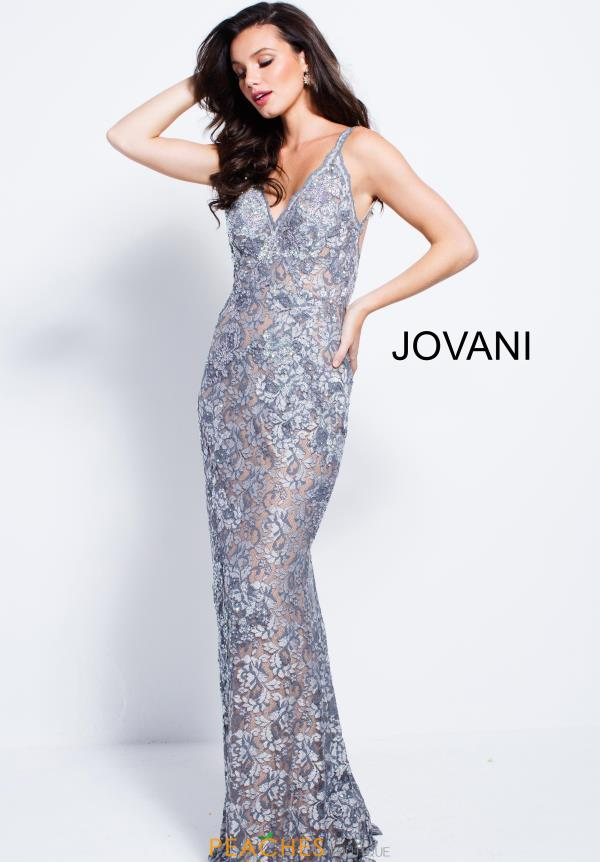 Jovani Fitted Lace Dress 53811