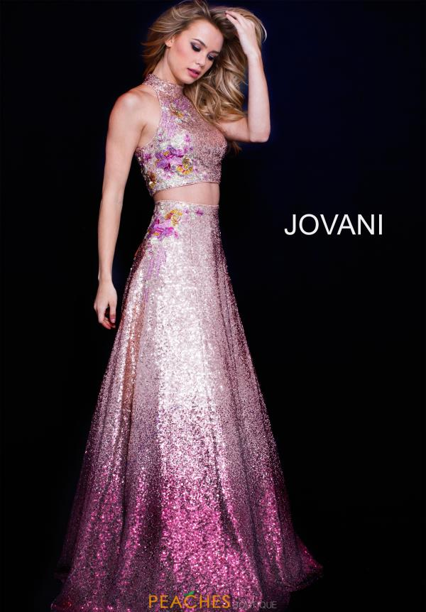 Jovani Long Sequins Dress 54471